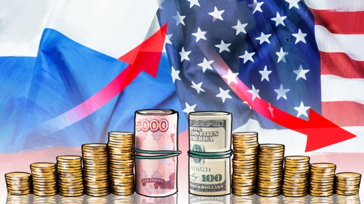 US risks triggered a record growth in imports of dollars in Russia