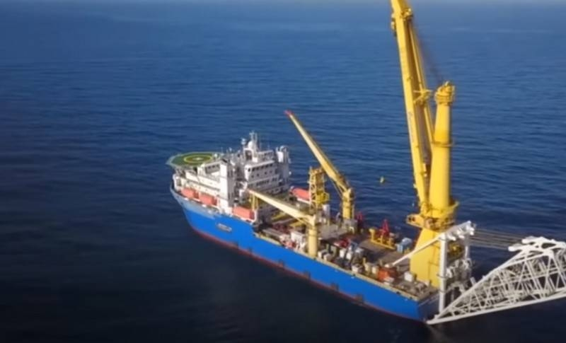 Vessel «Academic Cherskiy» preparation for work on «Nord Stream – 2»