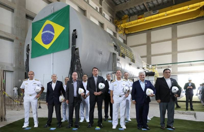 Brazil begins assembling the first nuclear reactor for a domestic nuclear submarine