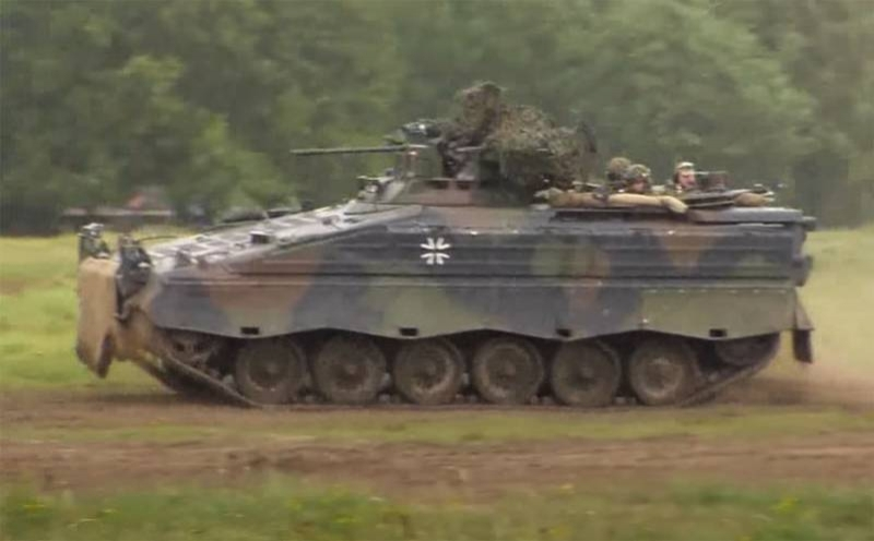 In the Polish press: Germans invest in old BMP Marder