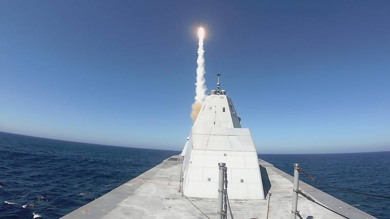 «Зачем нам Zumwalt»: in the US press summed up the first missile firing from a stealth destroyer