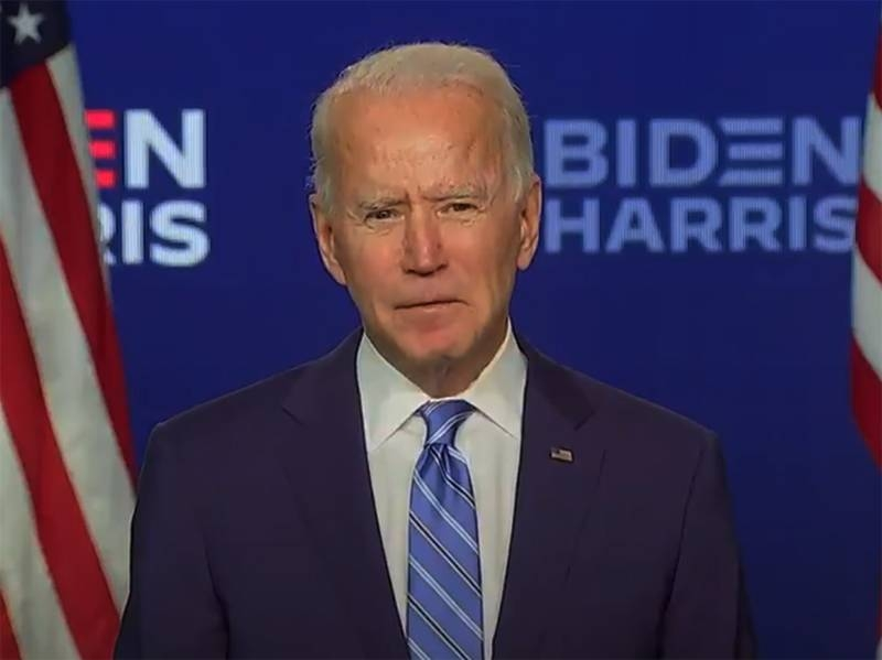 Biden proclaims himself the 46th president of the United States and calls America a beacon for the whole world