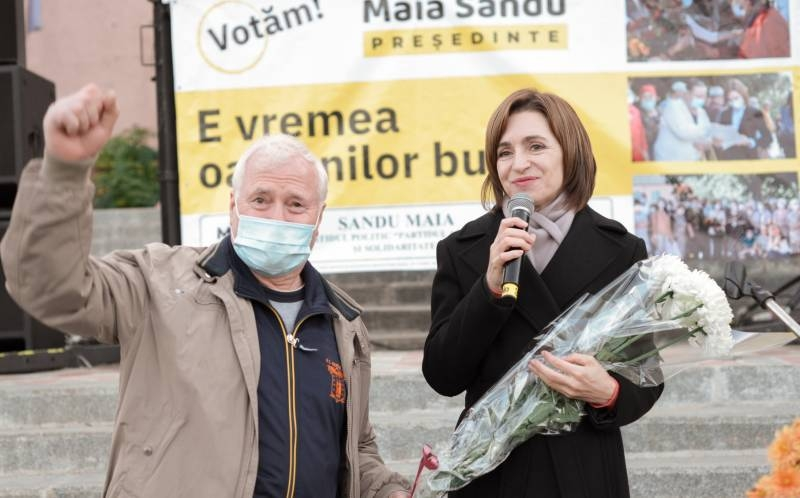 Pro-Western candidate Maia Sandu wins presidential elections in Moldova