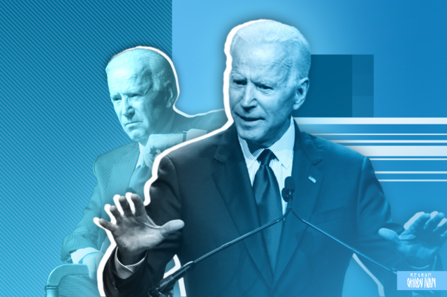 Believing in his presidency, Biden makes important political statements