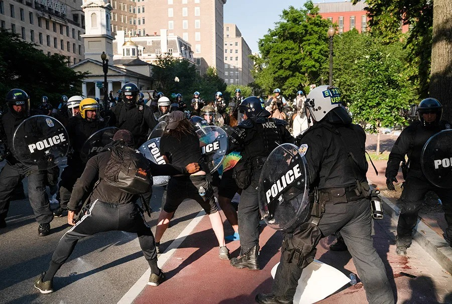 Law enforcement agencies across America prepare for riots