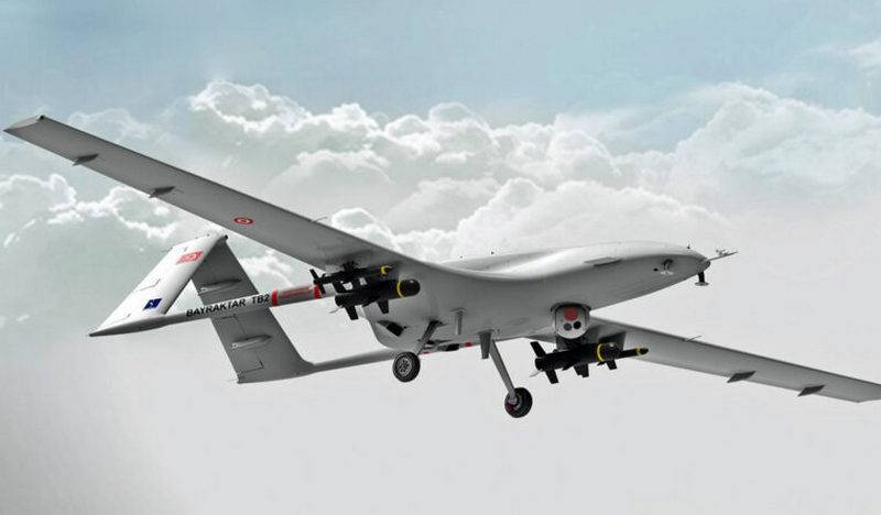 Turkish attack drone Bayraktar TB2 will receive an optical-electronic system from Aselsan