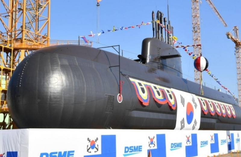 In South Korea, launched the second diesel-electric submarine of national design with VNEU