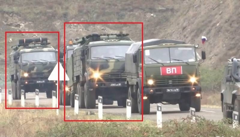The latest Russian electronic warfare system delivered to Karabakh