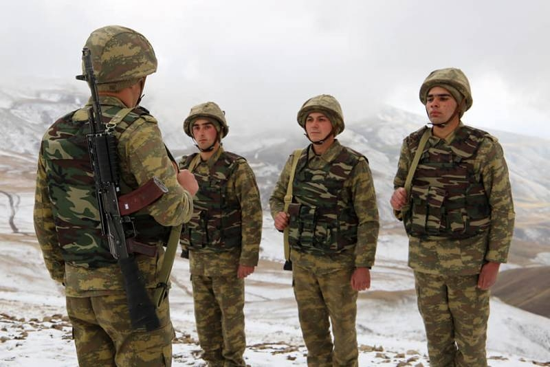 Materials about the alleged attempt of Azerbaijani troops to occupy the village of Berdashen appeared on the Internet