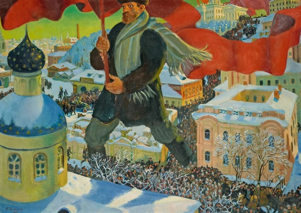 Vasili Volga: It is impossible to understand the Russian Revolution by 1917 alone and the events that followed.