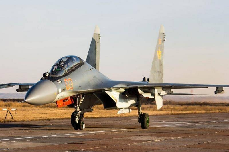 Air Force of Kazakhstan replenished with a link of multifunctional fighters Su-30SM