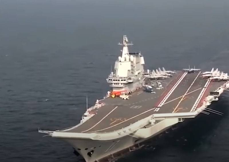 АУГ во главе с авианосцем «Shandong» вышла на учения: Chinese Navy before 7 January will close part of the South China Sea