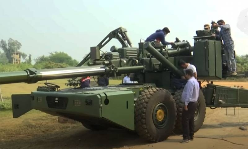 India resumes testing of an updated 155-mm artillery mount after a barrel burst incident