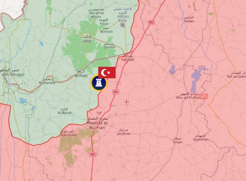 Turkish military activity in Syria intensifies: new post in Idlib and shelling of the suburbs of Ain Issa