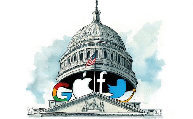 America begins to see clearly: Digital giants become new rulers