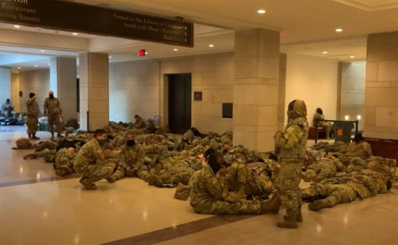 «Thrown to the floor like vagrants»: Americans speak out about military deployment in the Capitol