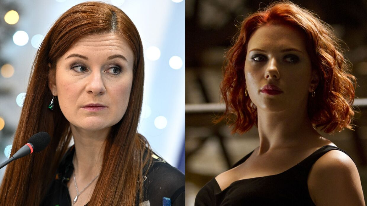 Butina rasskazala, what do she and Marvel's Black Widow have in common
