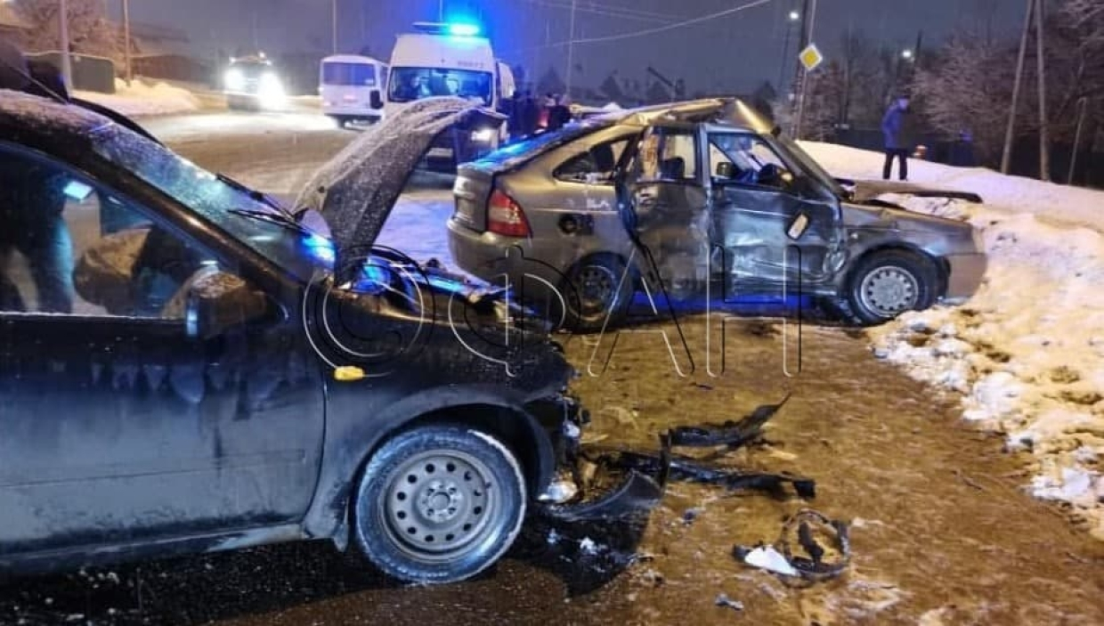 FAN publishes a photo of a serious car accident on the outskirts of Penza