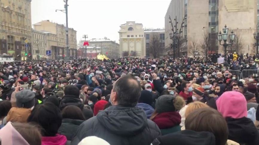 Outcome of protests 31 January: Navalny's lies destroyed by collision with reality