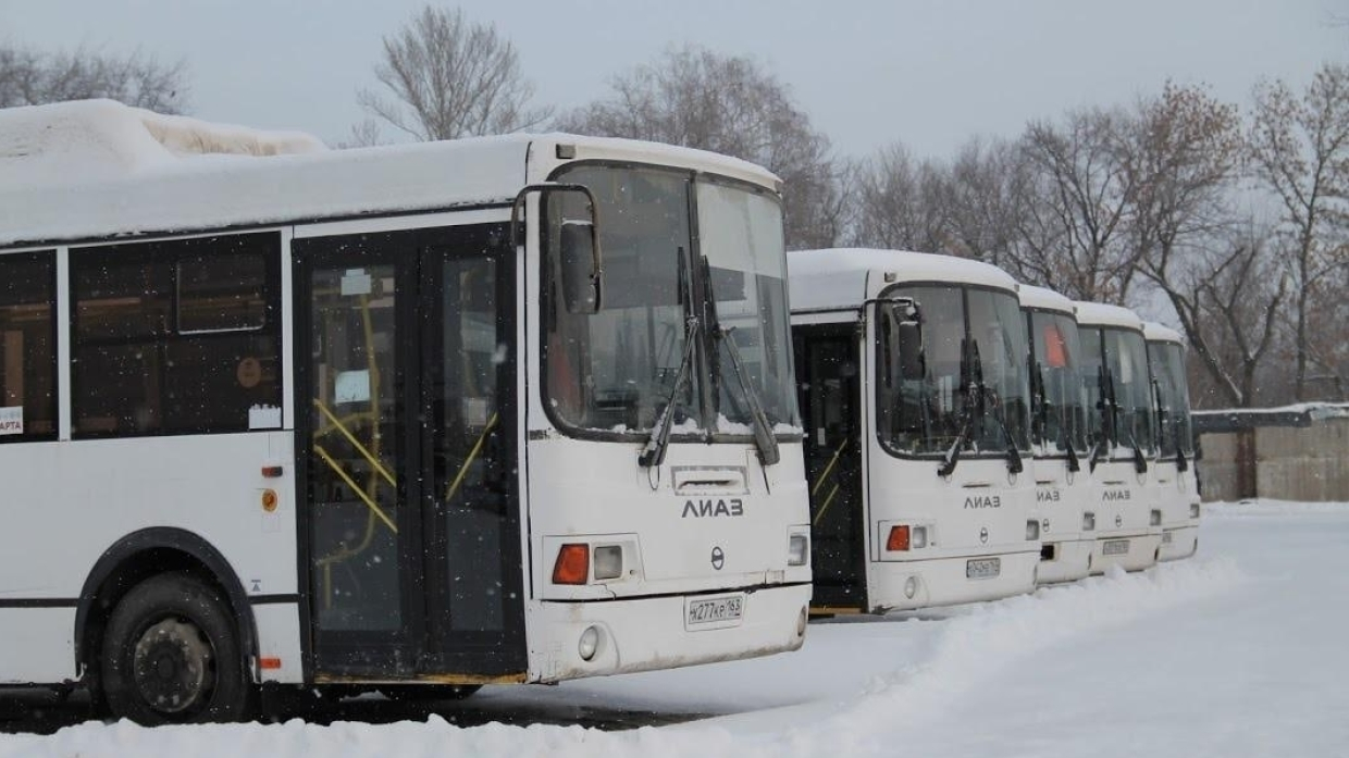 Bus routes were optimized in Samara