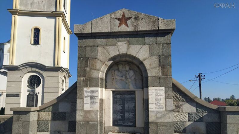 Monuments on the graves of Soviet soldiers continue to be desecrated in Serbia