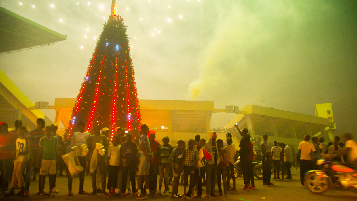 New Year celebrated in the capital of CAR. FAN publishes video