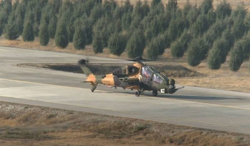 Turkey completed tests of the ATAK FAZ-2 helicopter with an electronic warfare system on board