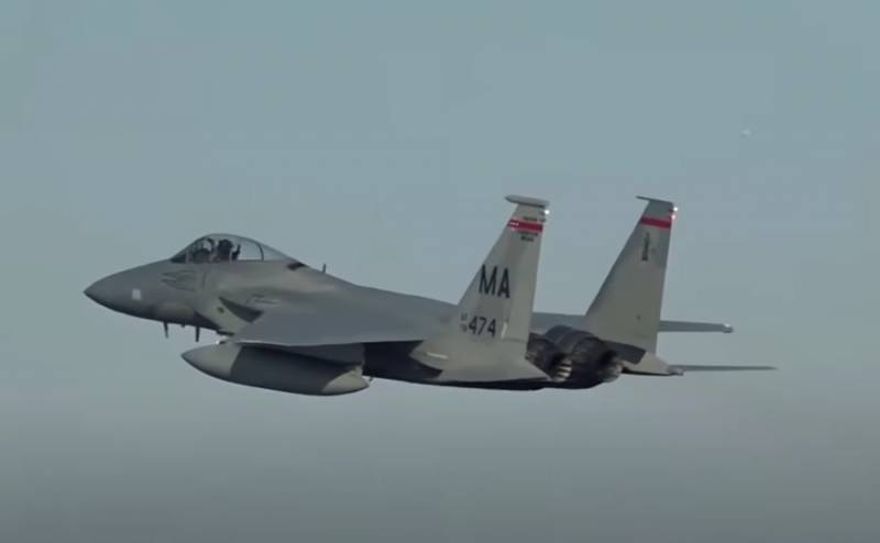 F-15 fighters were used after receiving data from Iraqi intelligence: details of the US Air Force strike in Syria are discussed