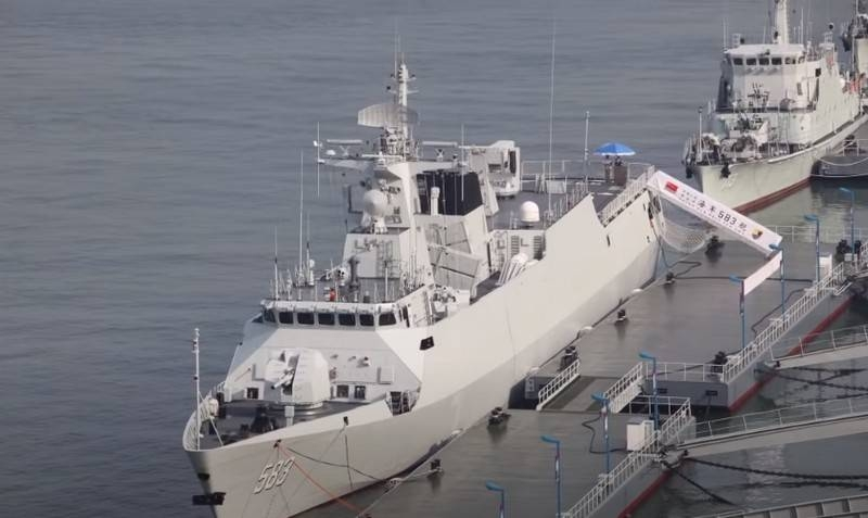 "China has completed the construction of a series of Project Type corvettes-056/056A (класс ""Цзяндао"")"