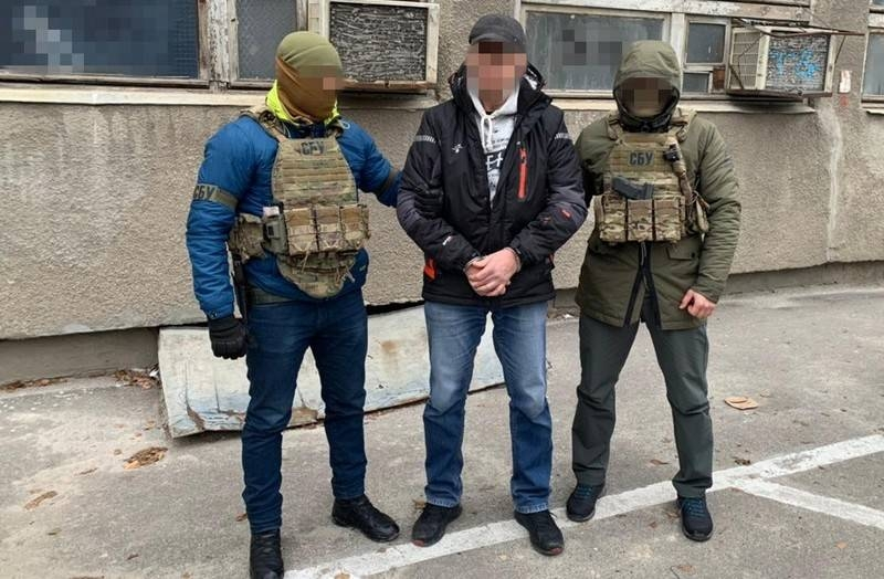 Counterintelligence SBU reported on the arrest of an agent of the FSB of the Russian Federation