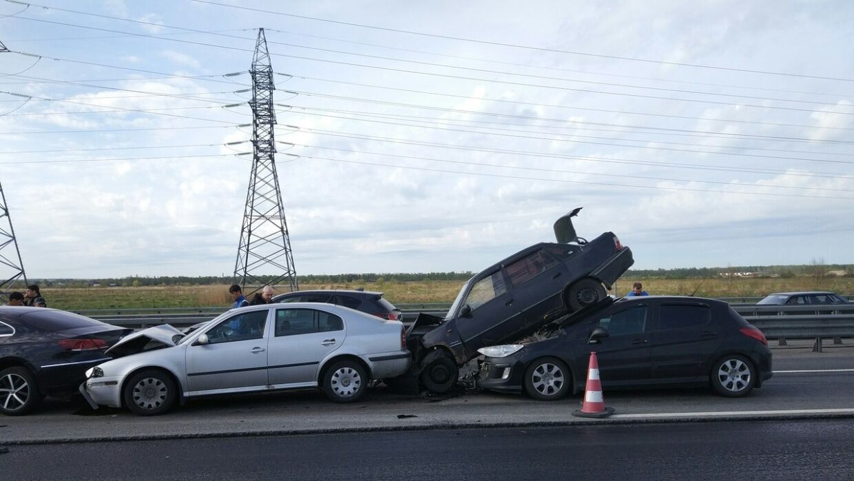 Major accidents: FAN publishes top 5 mass road accidents in Russia