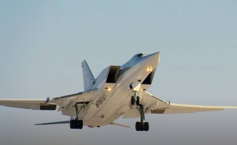 The Kh-32 cruise missile was tested from the side of the modernized Tu-22M3 bomber