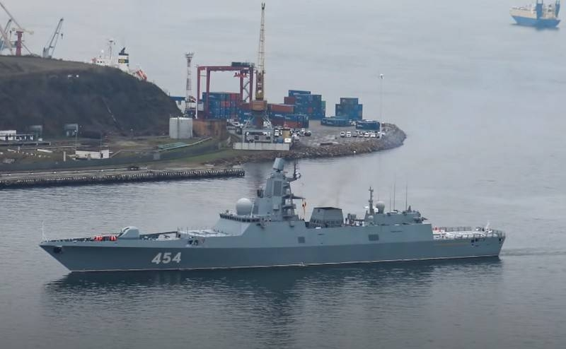 Modernized frigates of the project 22350 will receive hypersonic weapons
