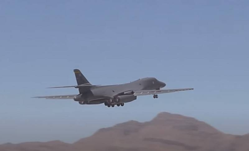 US Air Force B-1 Lancer deployed to Norway on first patrol over Barents Sea