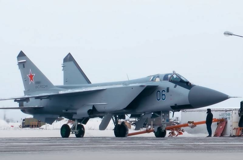 The Northern Fleet carried out the first rotation of the MiG-31BM interceptors on the Novaya Zemlya archipelago