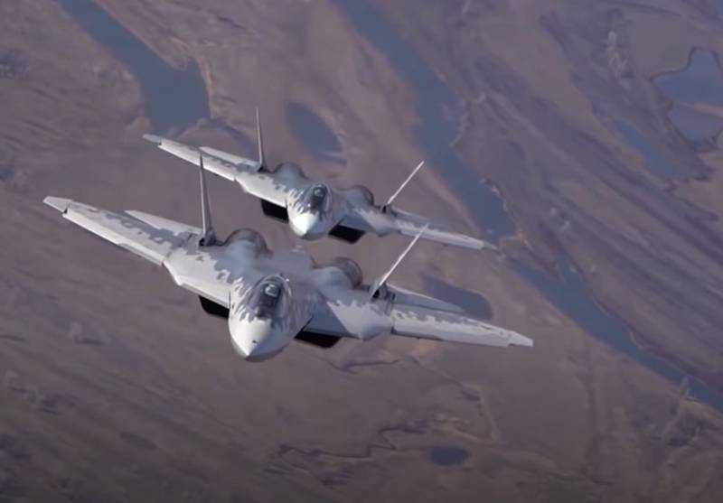 In the US press: Russian Su-57 became the world's first 5th generation fighter with hypersonic weapons