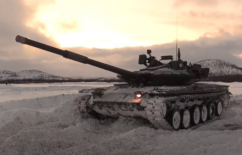 In the USA, told about the further fate of the Russian T-80 tank