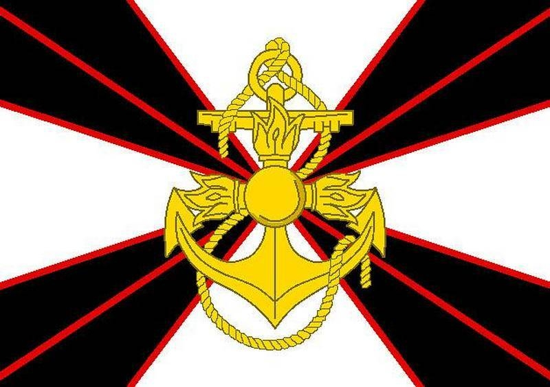 The Ministry of Defense approved the new emblem and flag of the Marine Corps