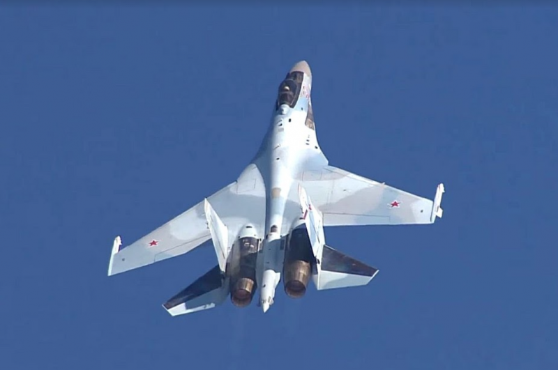 Russian Su-35 entered the top five most beautiful modern fighters according to the readers of the US media