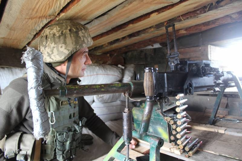 It is reported about the resumption of fighting in the Zolote region in the Luhansk direction