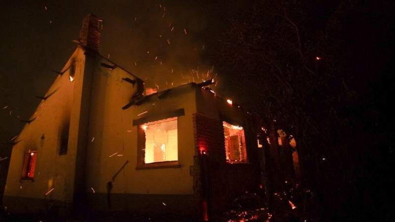 The corpse of a pensioner was found during a fire in the Kaliningrad region