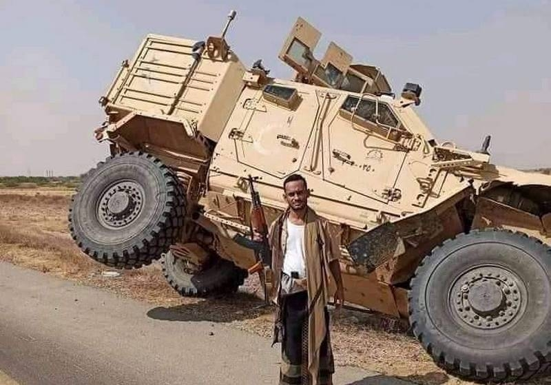 Images of MRAP Oshkosh M-ATV of the Arab coalition captured by the Houthis in Yemen appeared on the web