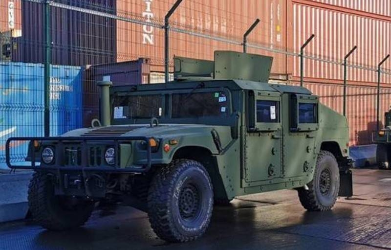 «Внедорожники Humvee»: Another batch of American military aid arrives in Odessa