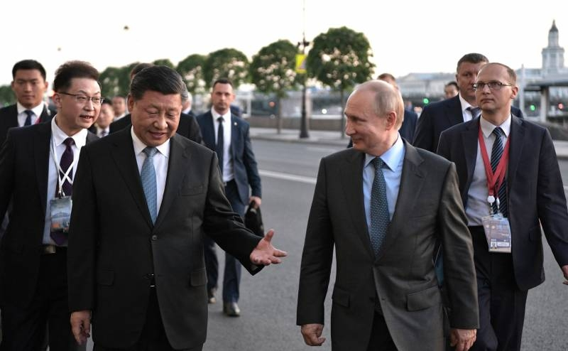Western press: The US administration itself is pushing Russia and China towards an anti-American alliance