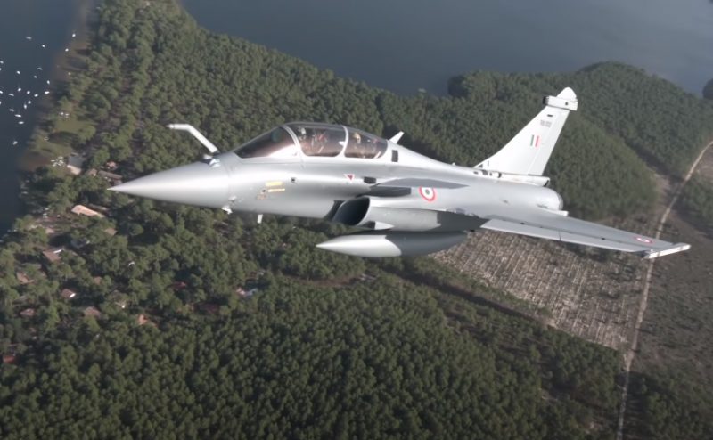 Indian Air Force receives fifth batch of French Rafale fighters