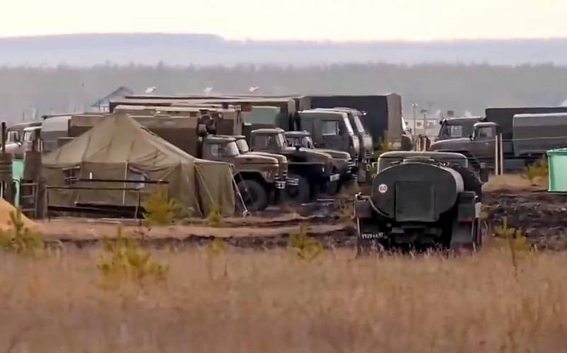 Field camp near Voronezh as a guarantee of non-aggression against Donbass