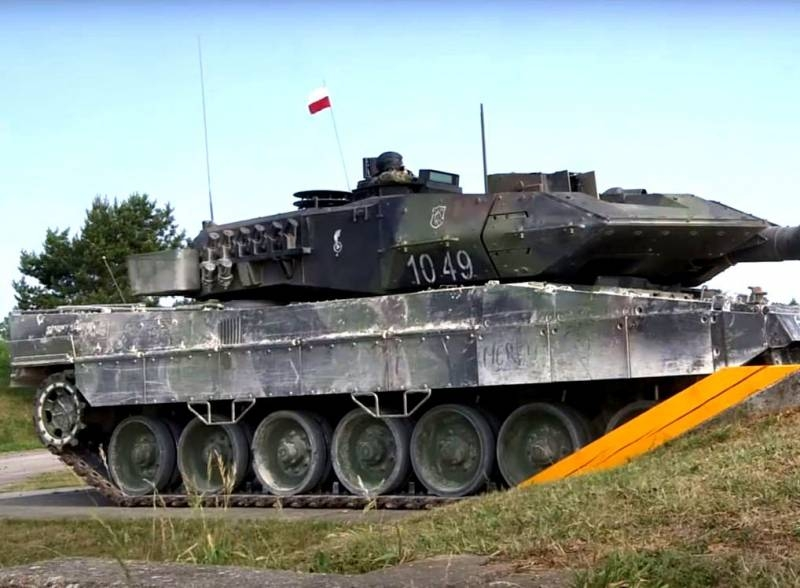 «Польские танки безнадежно устарели»: the expert compared the tank power of Poland and Russia