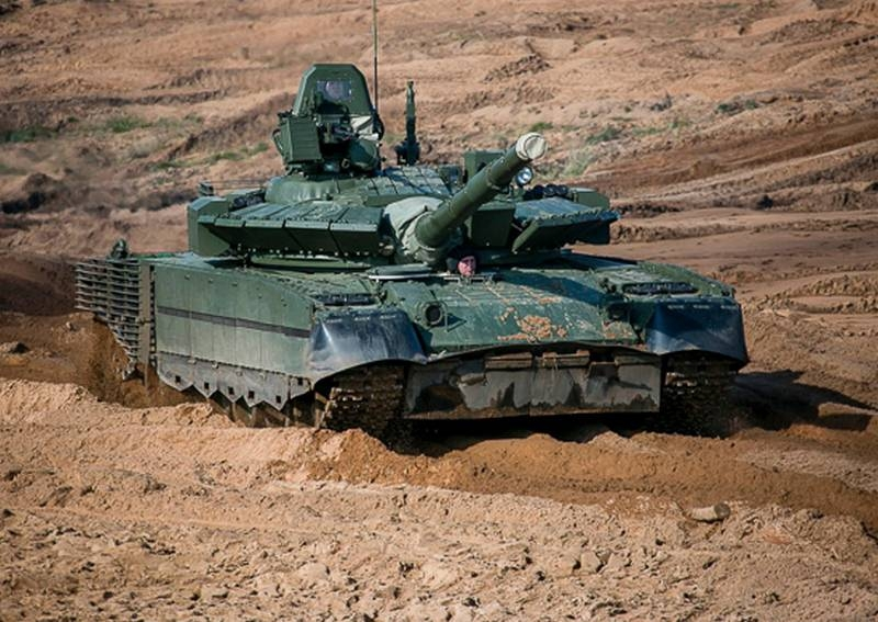 Russian tankers in the Kuril Islands will switch from modernized T-72B3 to T-80BV