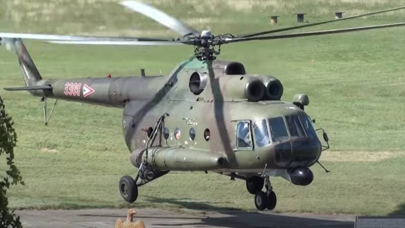 «Soviet workhorse» helicopter Mi-8T decommissioned in Hungary
