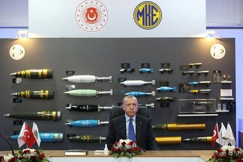 Turkey opens new explosives production facility